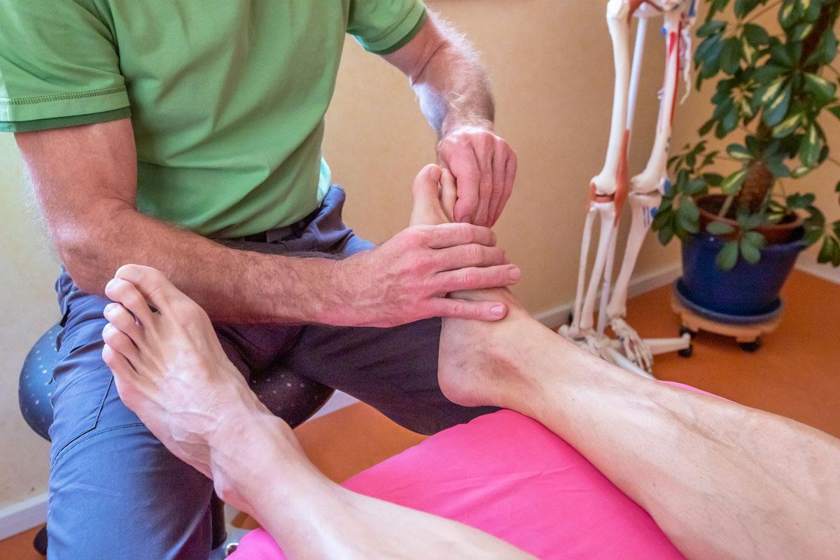 Gesundheitspraxis Frauenfeld, Fussreflexzonen Massage