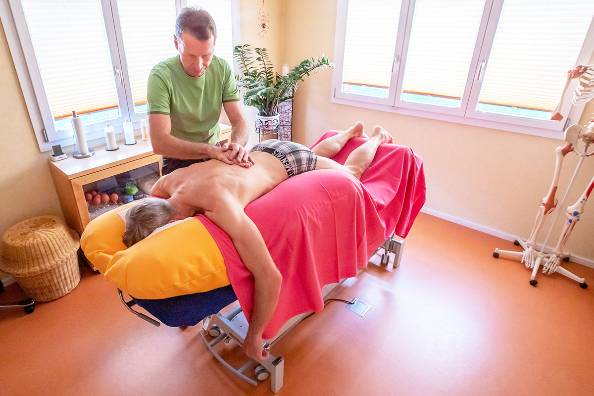 Gesundheitspraxis Frauenfeld, Schwingkissen Therapie
